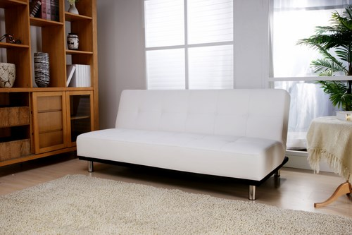 duke white clic clac sofa bed